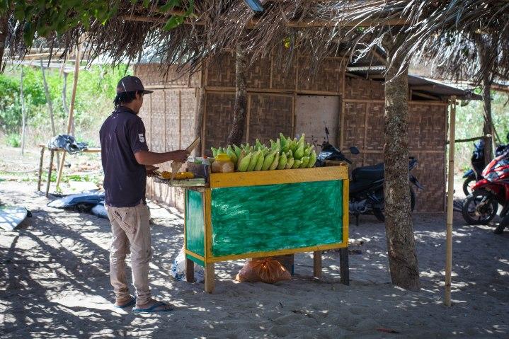 Le vendeur d'épis de maïs